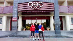 MTK juniorů v zápase řeckořímském - Stayki, Bělorusko