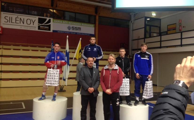 Čeští reprezentanti získali na turnaji ve Finsku dvě bronzové a jednu stříbrnou medaili