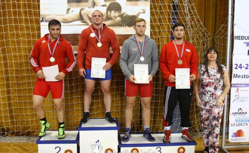 Kročák Jakub získal získal 3. místo na mezinárodním turnaji kadetů v Srbsku – Subotica