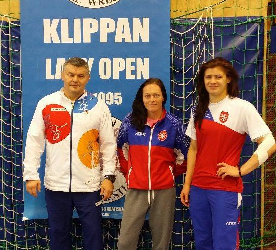 MT seniorek a kadetek v zápase v.styl – KLIPPAN, Švédsko