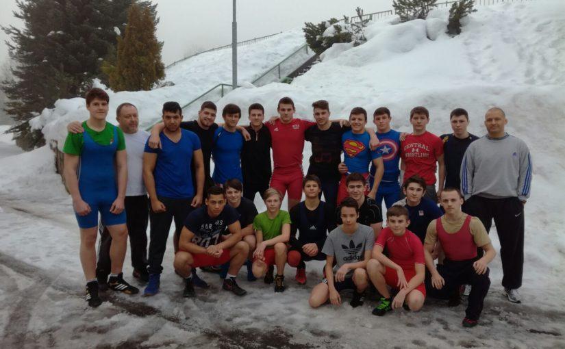 Soustředění reprezentačního družstva kadetů a juniorů – Smržovka, Jizerské hory