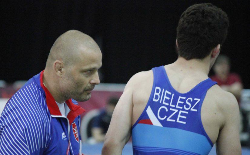 Jakub Bielesz obsadil na mistrovství Evropy juniorů v zápase řeckořímském osmé místo