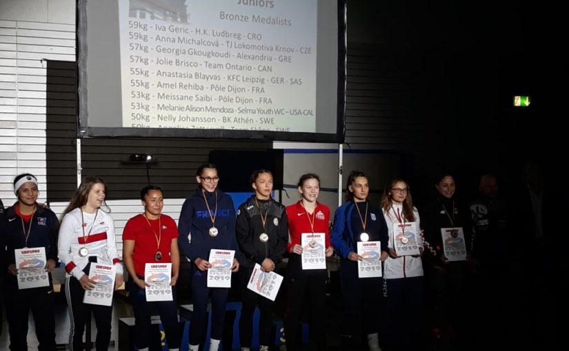 MT Berlín (GER) v ženském zápase – Berlín, Německo