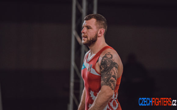 Mistr ČR 87 kg Petr Novák