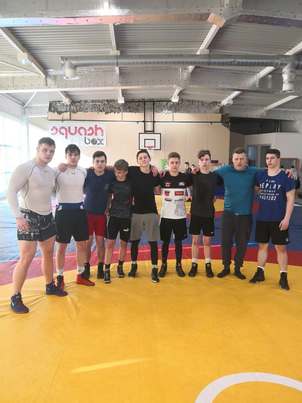 Reprezentace juniorů a kadetů na soustředění v Siedlci