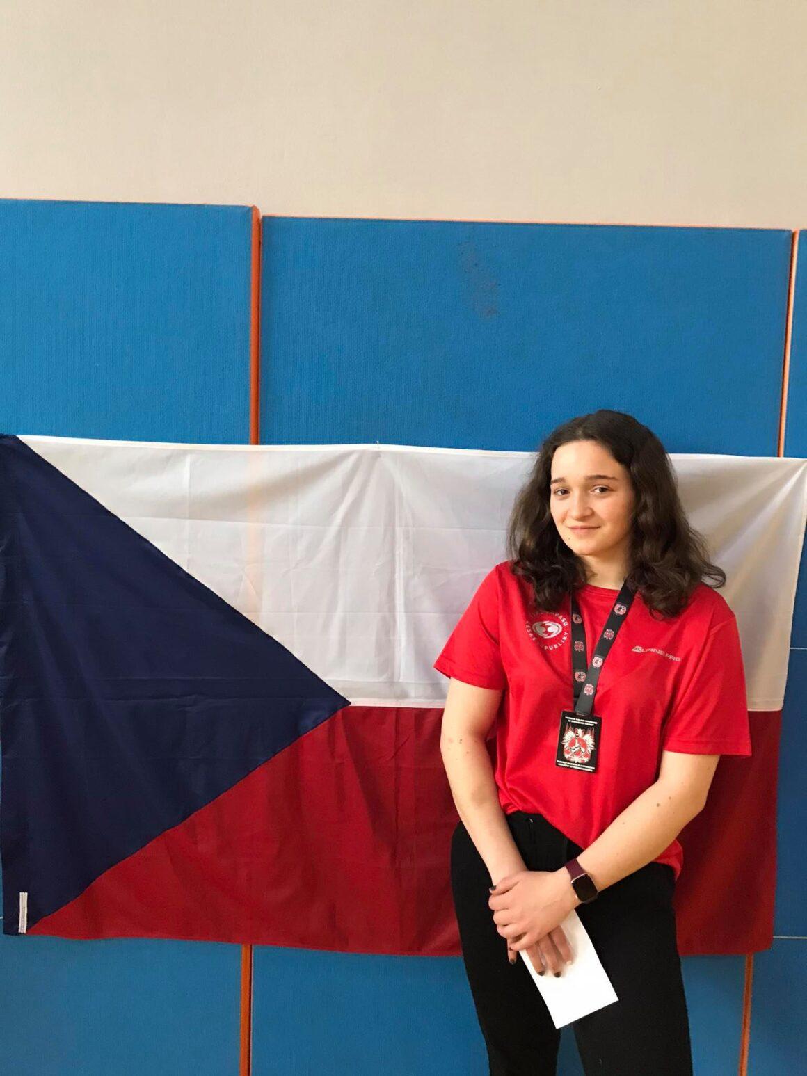 Vendula Piskořová si z turnaje olympijských nadějí odváží bronz!