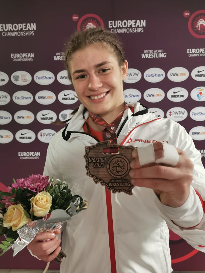Adéla Hanzlíčková zazářila na mistrovství Evropy