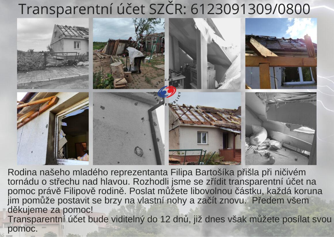 Pomozte rodině Filipa Bartošíka
